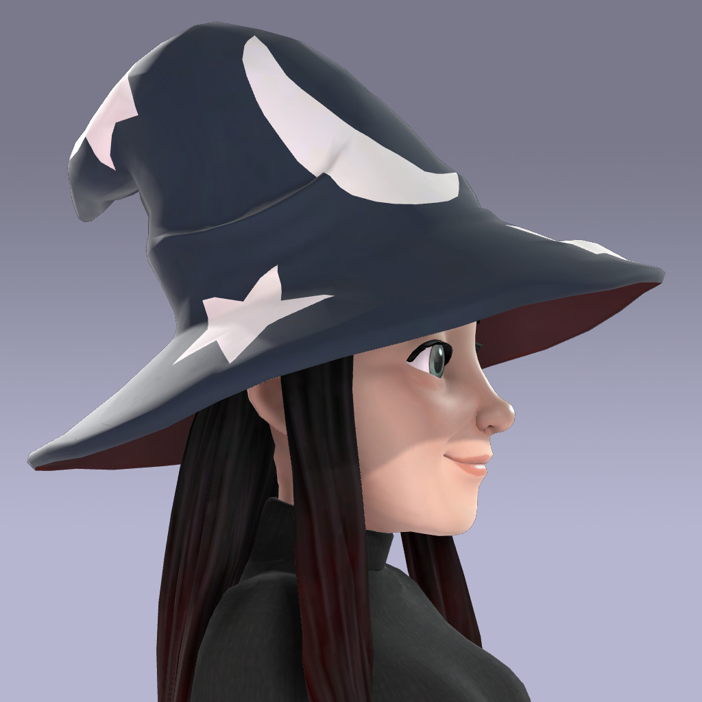 Modified material for Wizard Hat