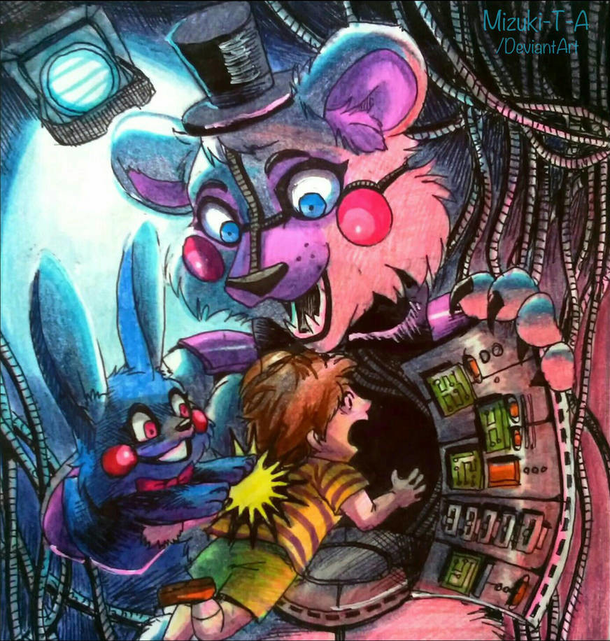Top 10 Punto Medio Noticias | Fnaf Sister Location Funtime Freddy Fanart