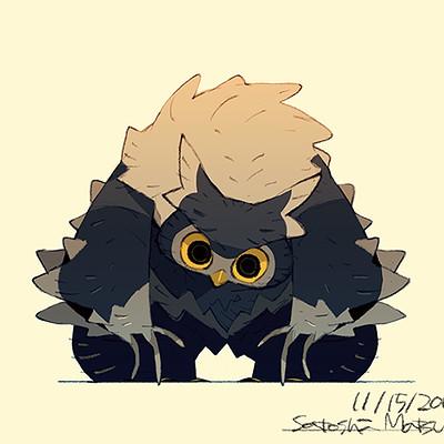 Satoshi matsuura 2018 11 13 owl bear s