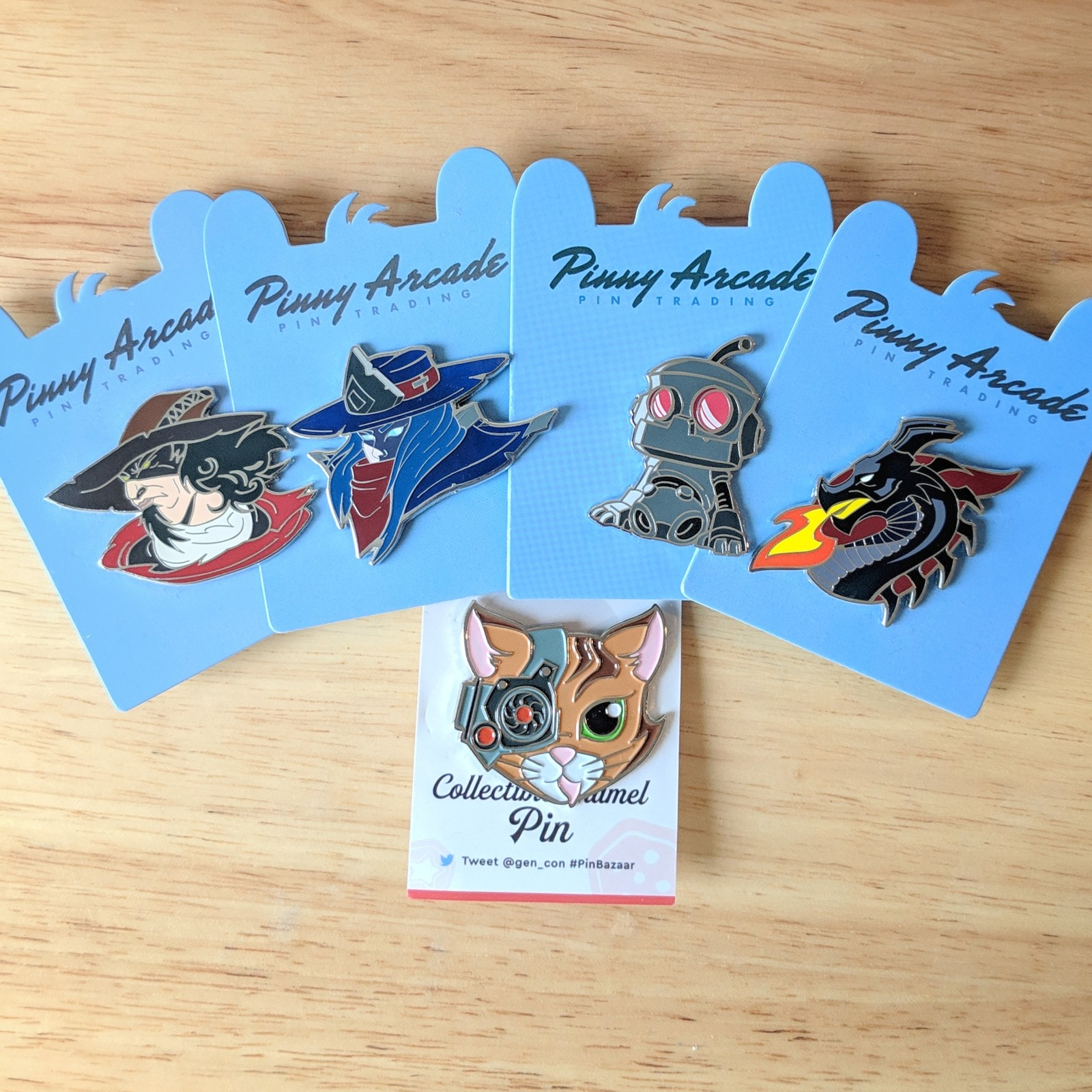 Enamel Pins for Dire Wolf Digital