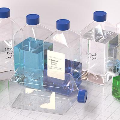 Basile arquis magicbulb laboratory square bottle 00 169