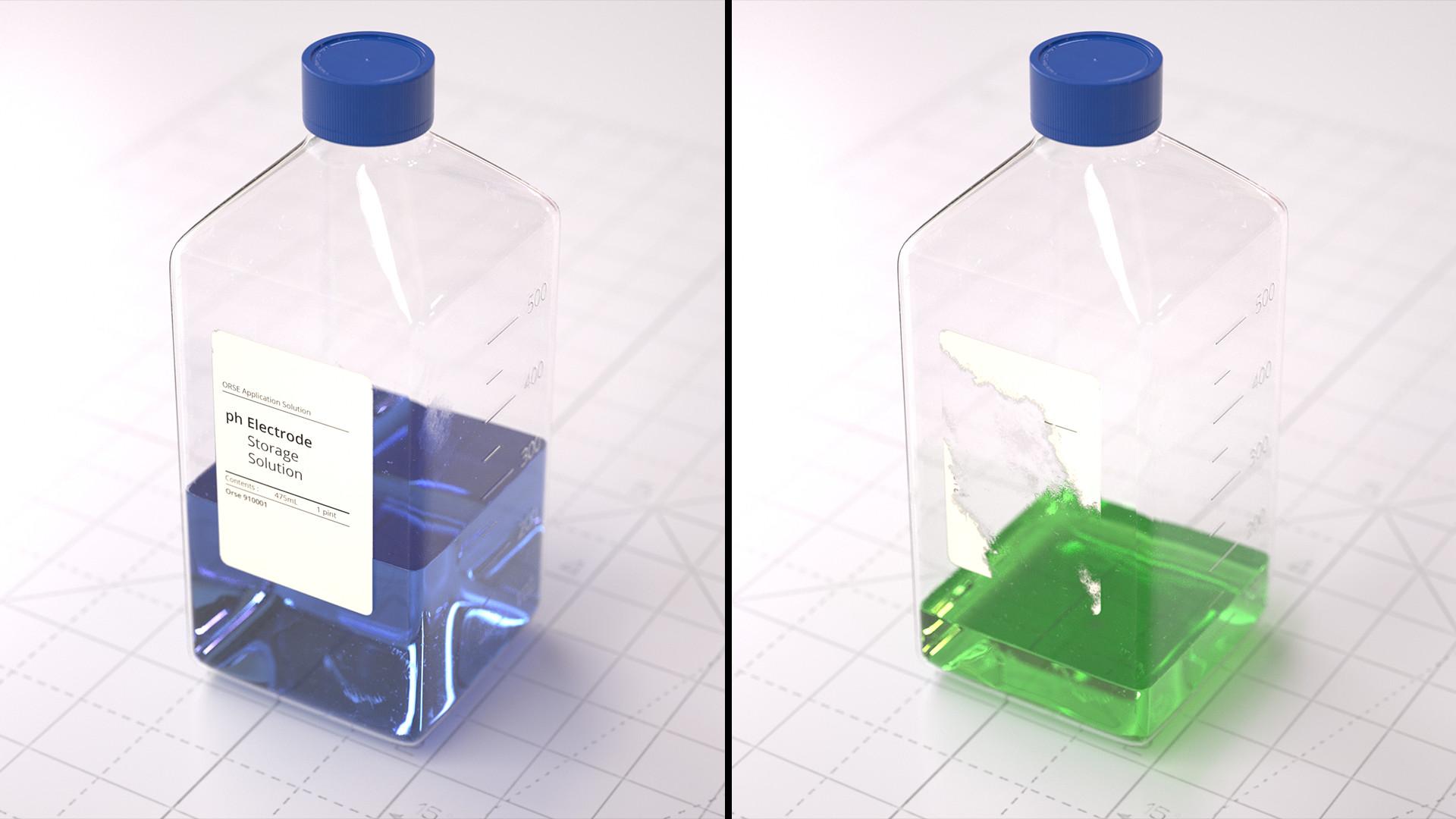 Basile arquis magicbulb laboratory square bottle 12