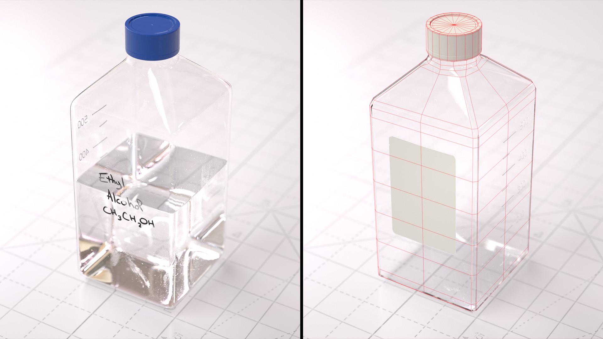 Basile arquis magicbulb laboratory square bottle 13