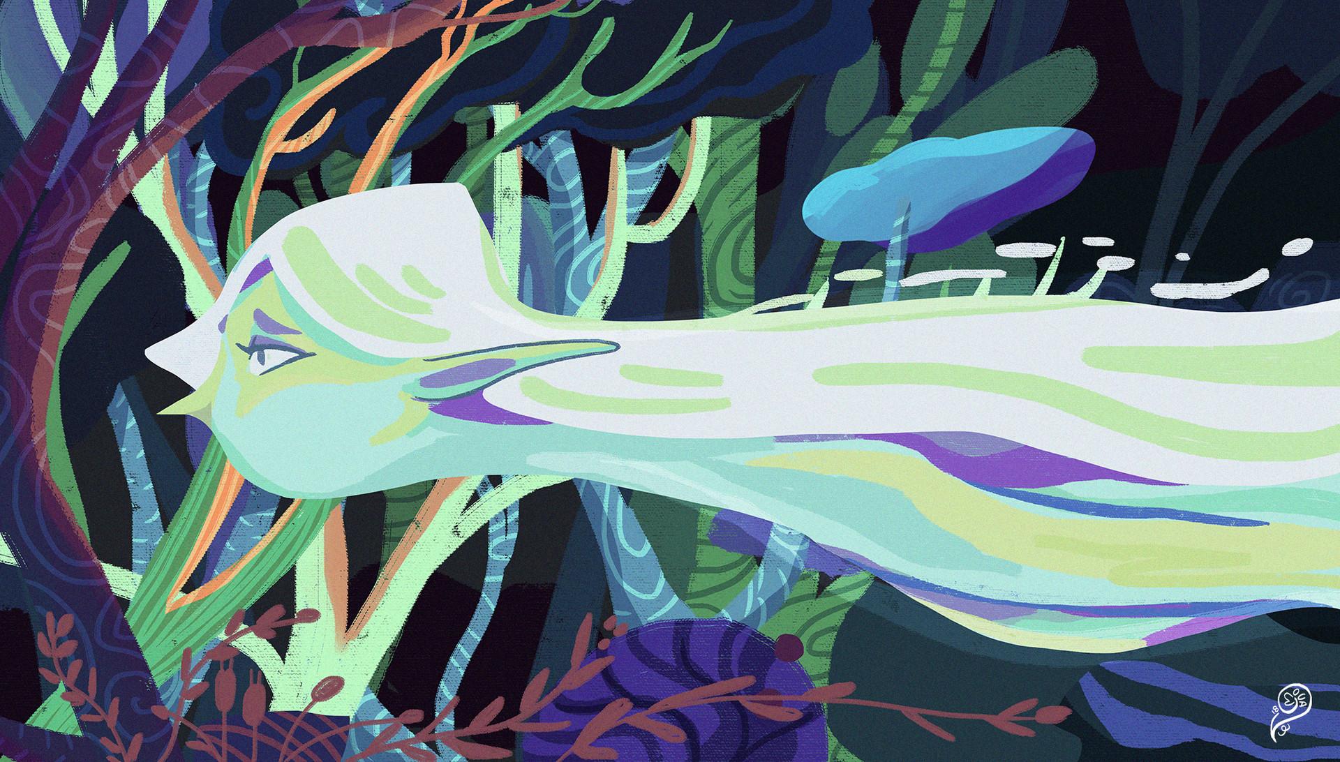 Vanessa morales forest spirrit by phonemova