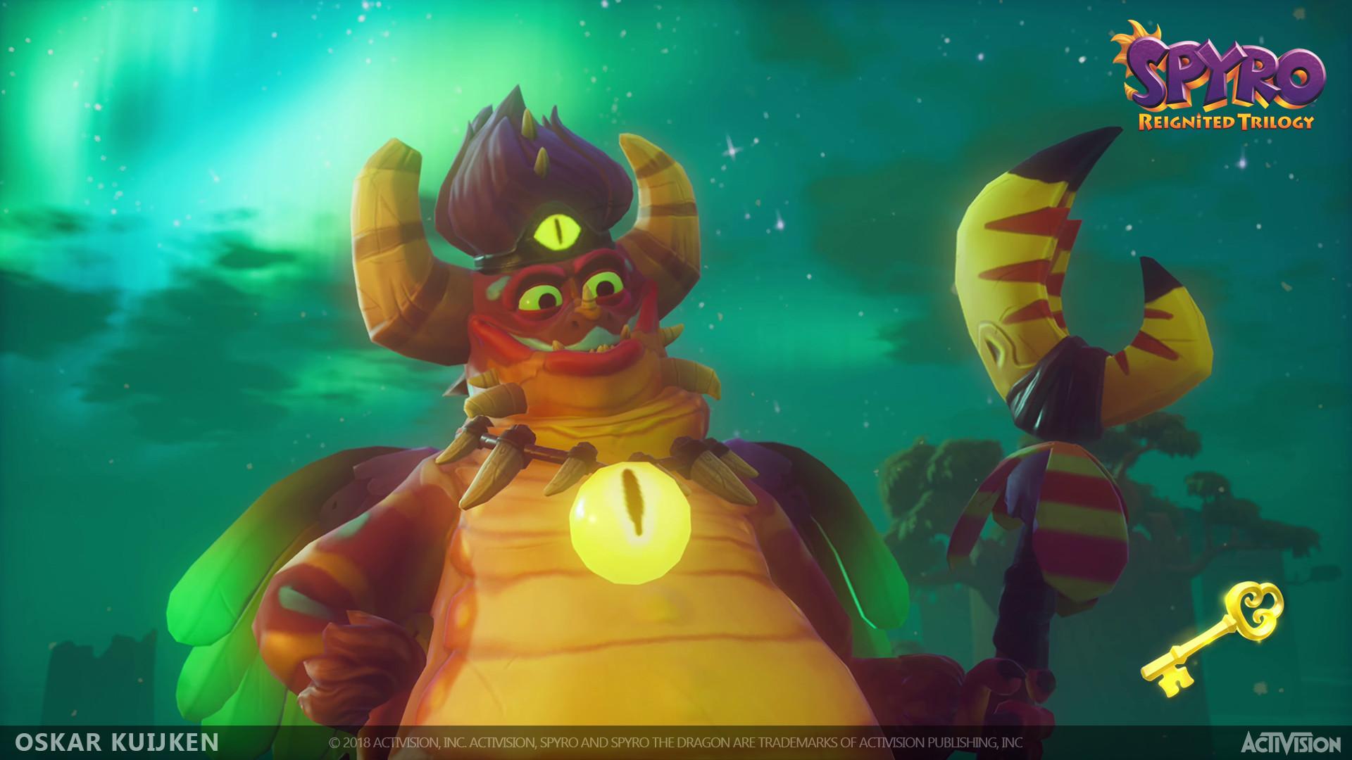 ArtStation - Spyro Reignited Trilogy - Jed , Oskar Kuijken