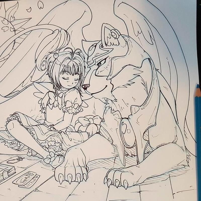 Cardcaptor Sakura Fan Art - Inktober