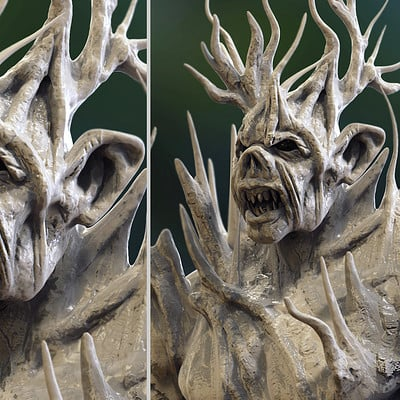 Surajit sen tree orc speed sculpt by surajitsen 12112018 both