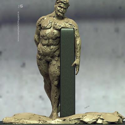 Surajit sen happy man quick sculpt surajitsen 11112018