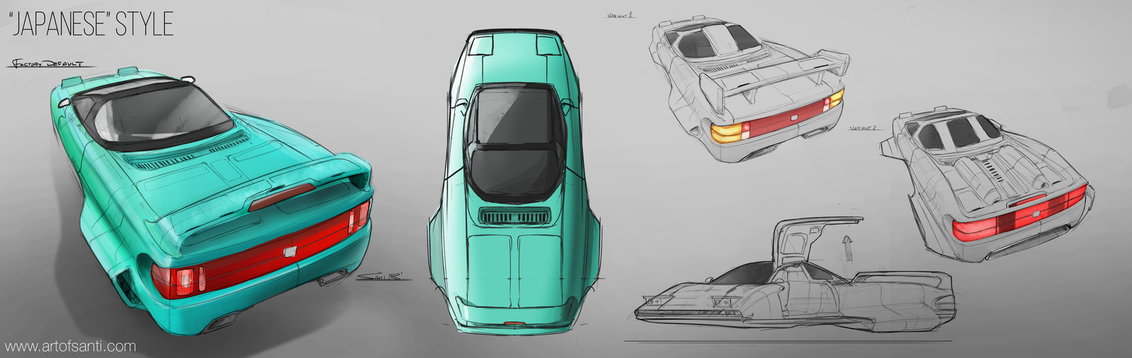 Retro Future Vehicles
