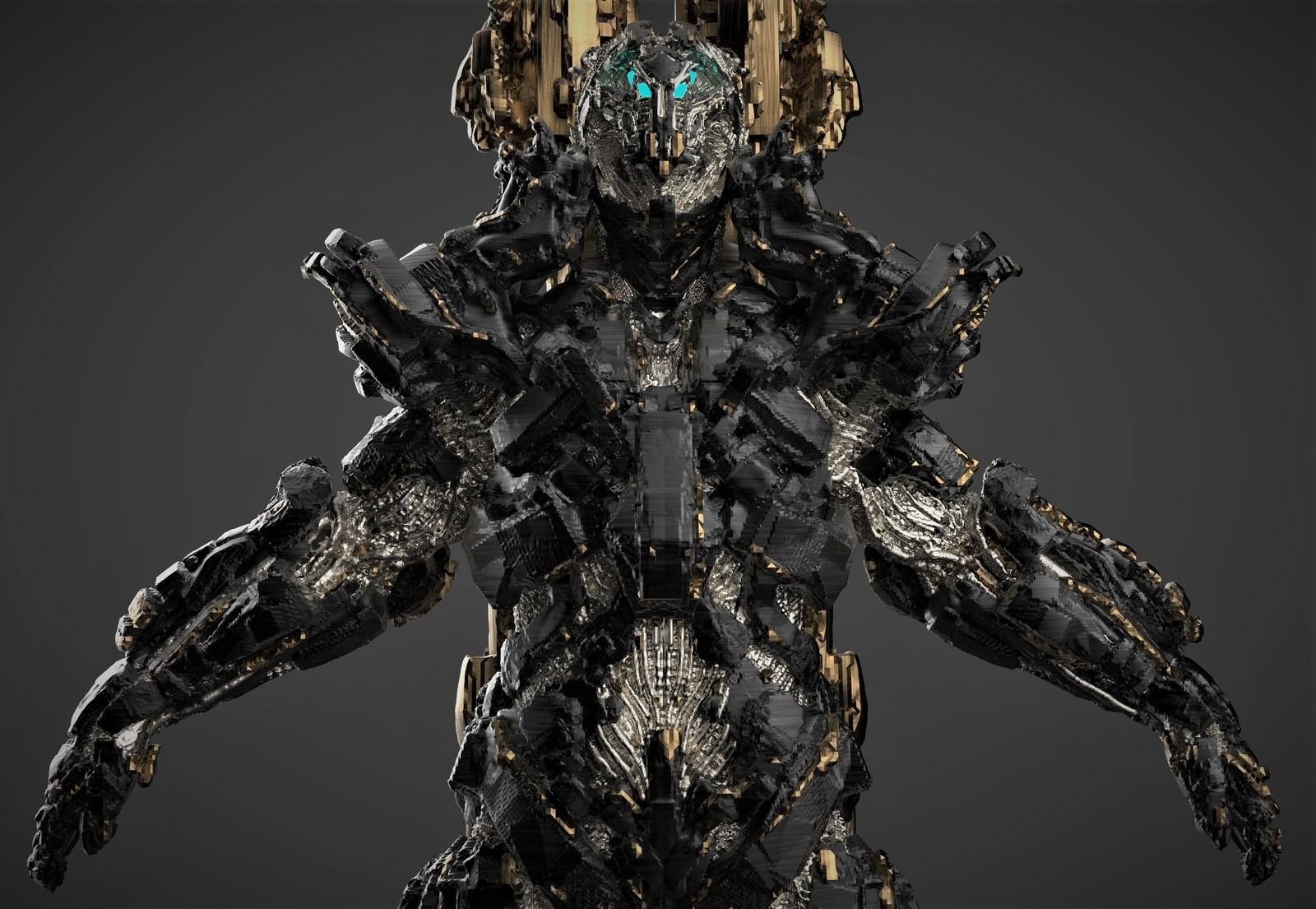 Robot Concept Sketch /3D Coat