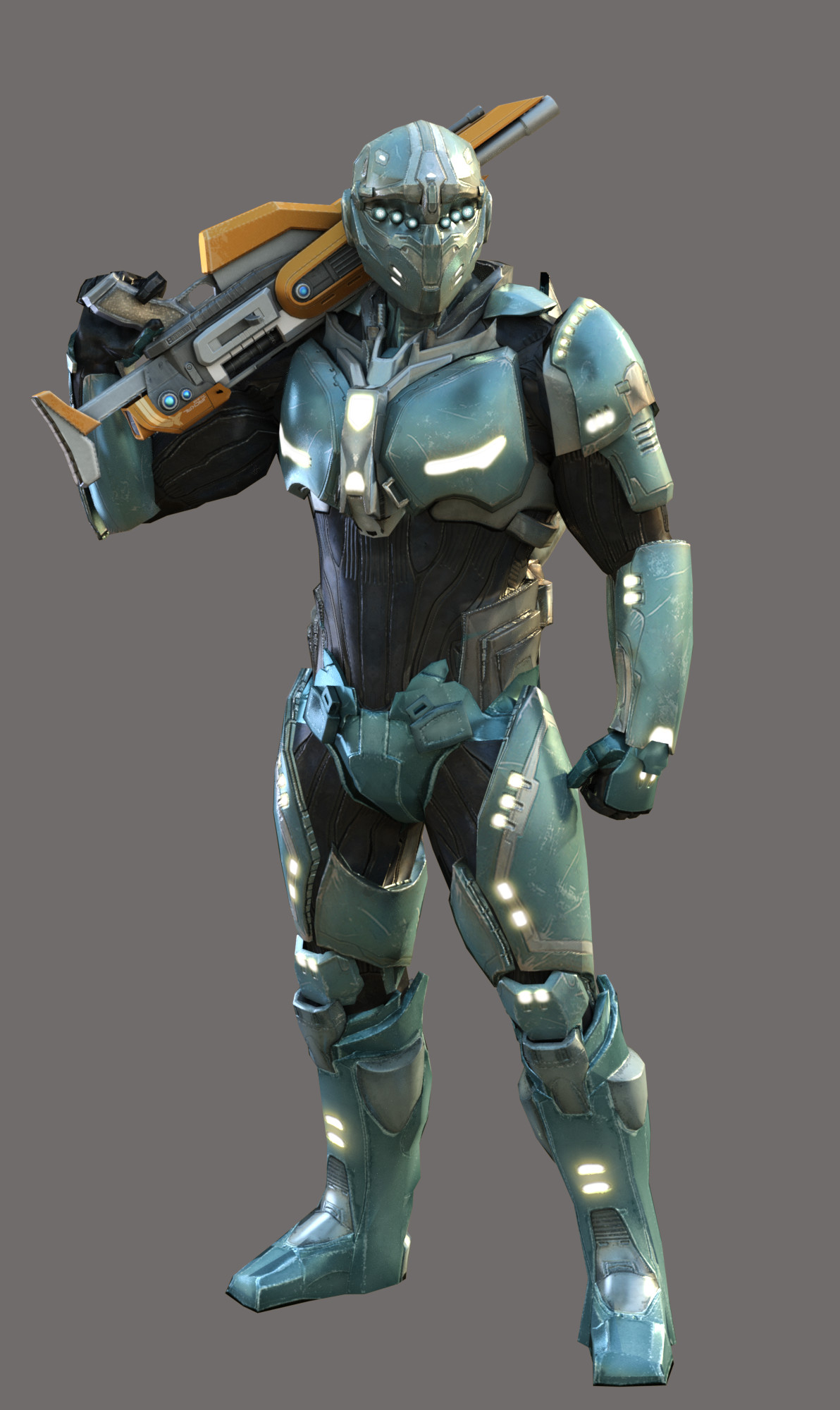Main Character. Body mesh by me Helmet by Andrew Westwood