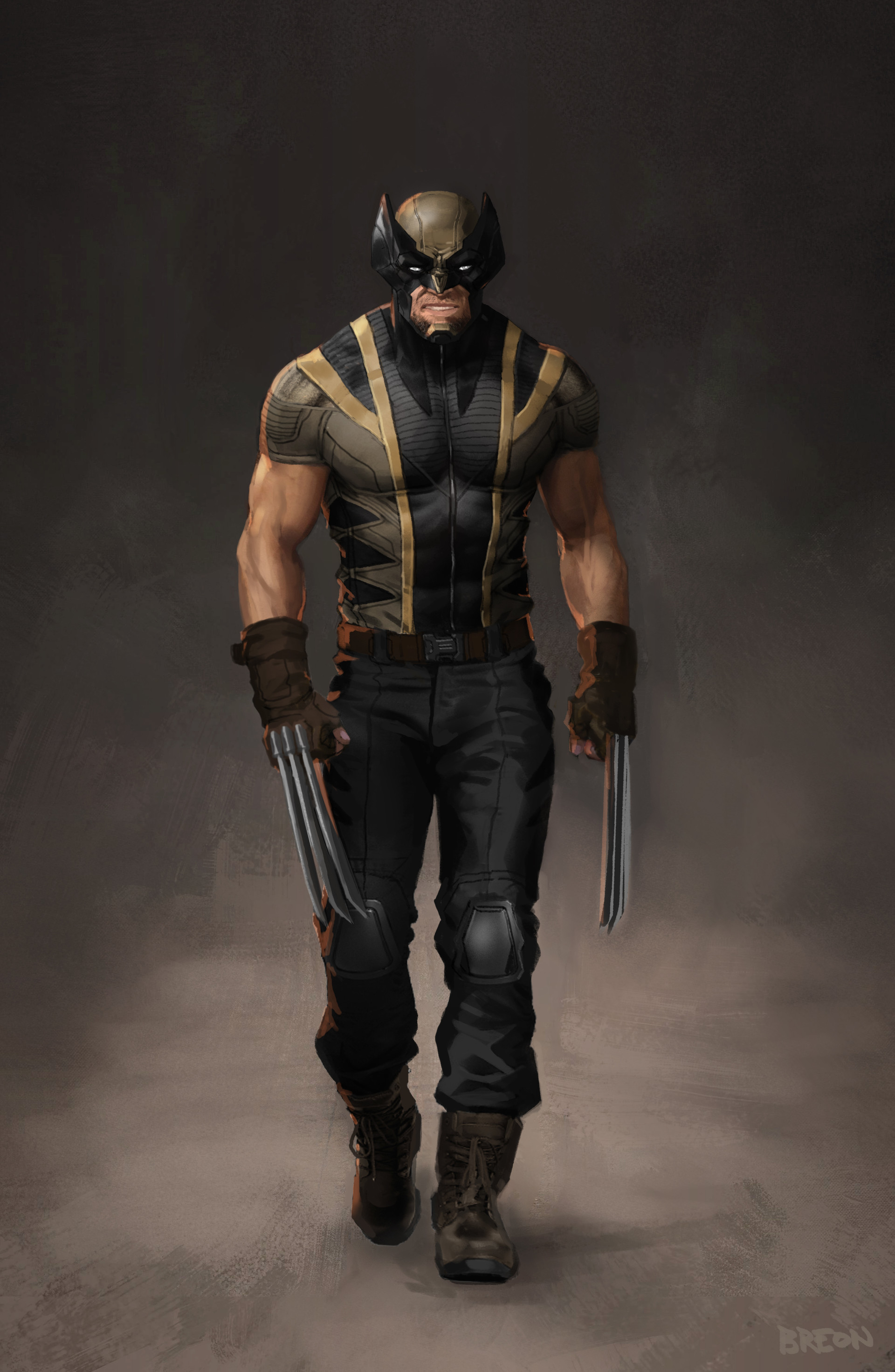 Mcu S Wolverine Concept By Tyler Breon Made By One Of The