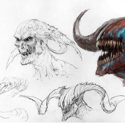 Antonio j manzanedo demon sketches mazanedo2