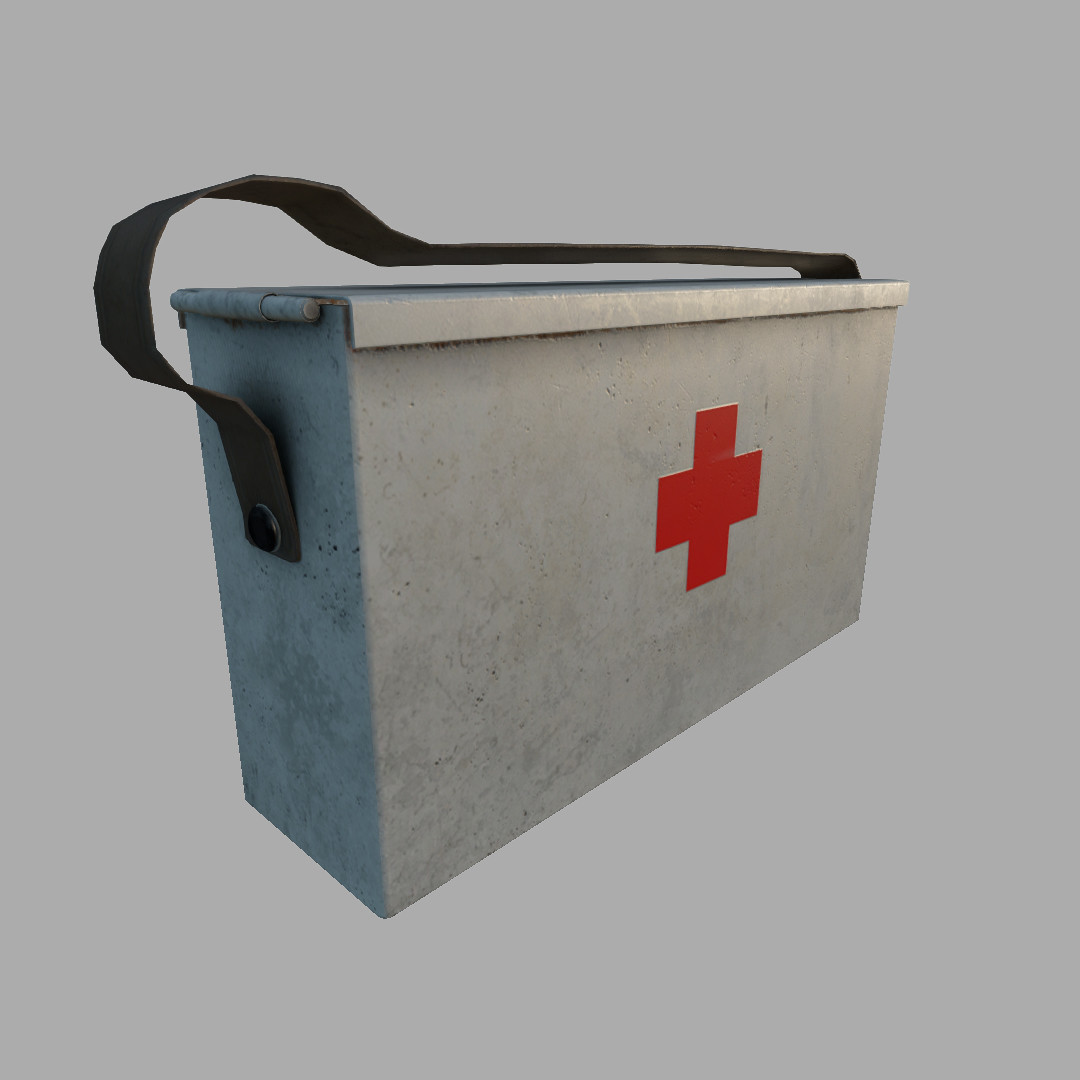 This is the same model as the ammo box, with some alterations and a new texture.