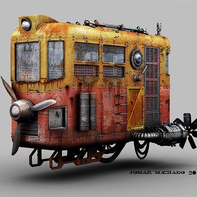 Jomar machado 160 hover tram