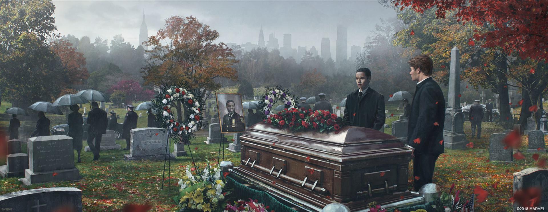 Jefferson Davis funeral.