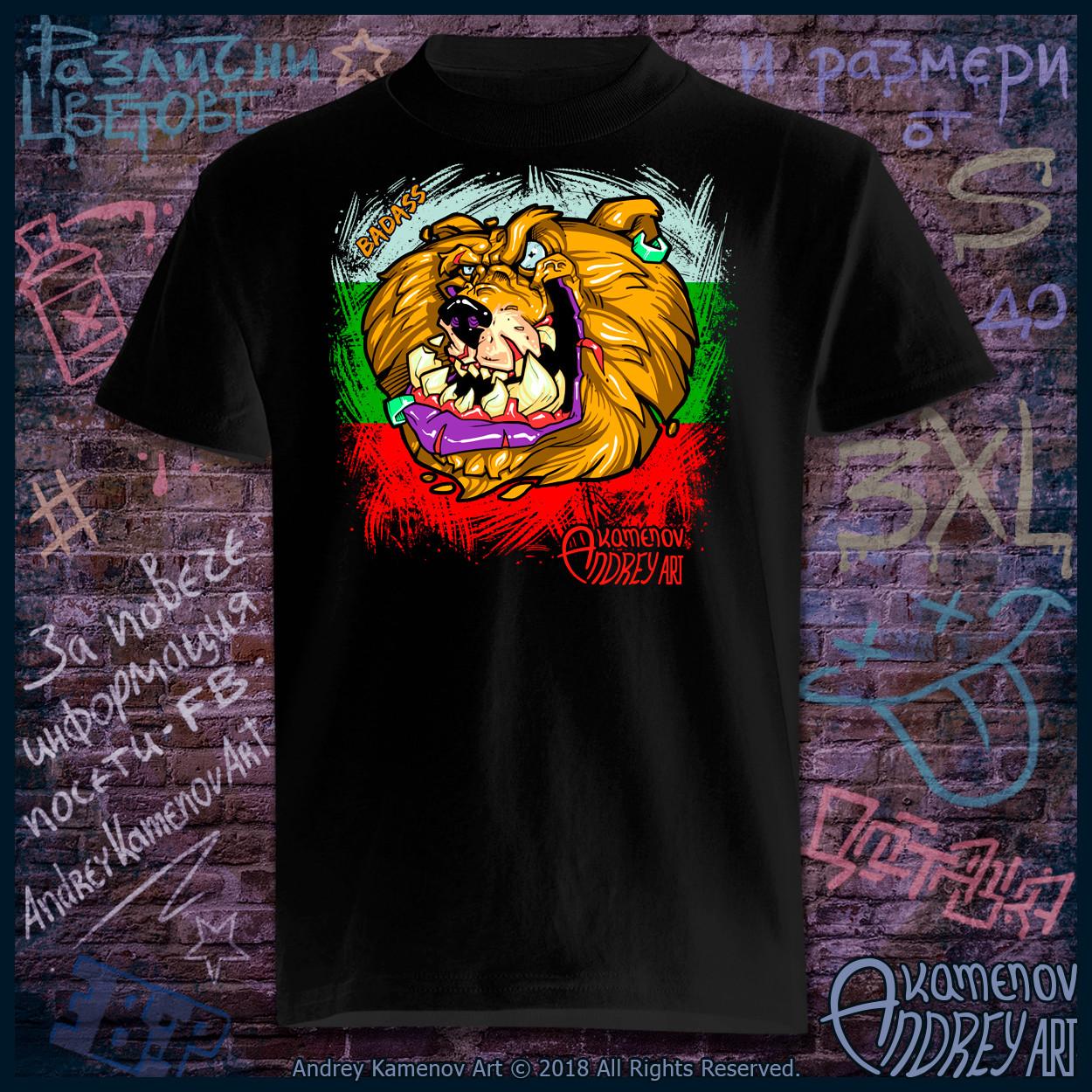 Andrey kamenov badass bear t shirt bg 01