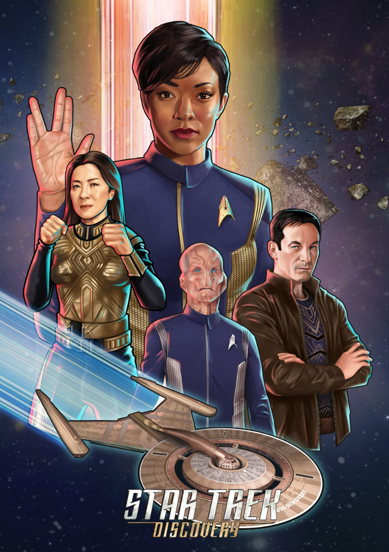 Star Trek Discovery Fan Art