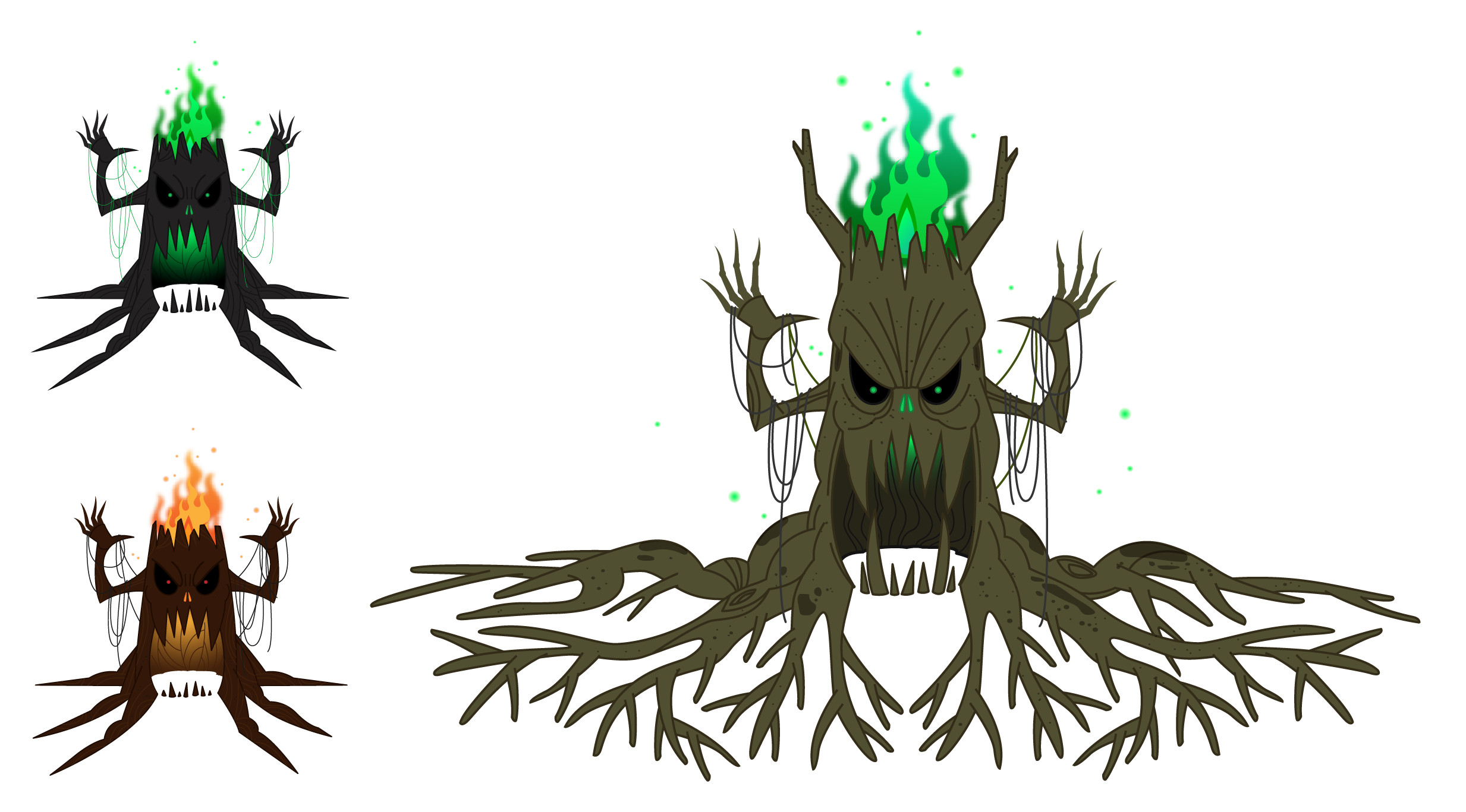 The  tree monster