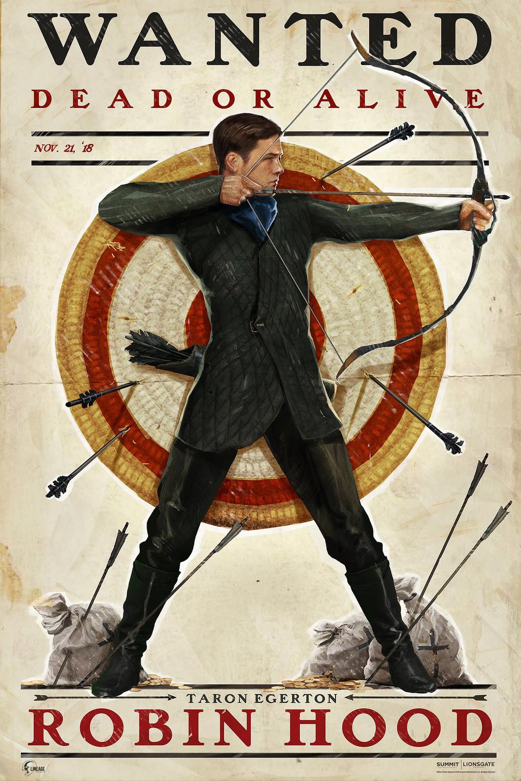 Robin Hood 2018 - Prints