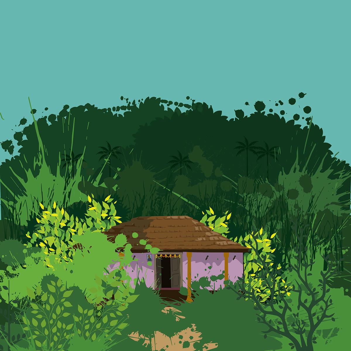Rajesh r sawant splatter house 01