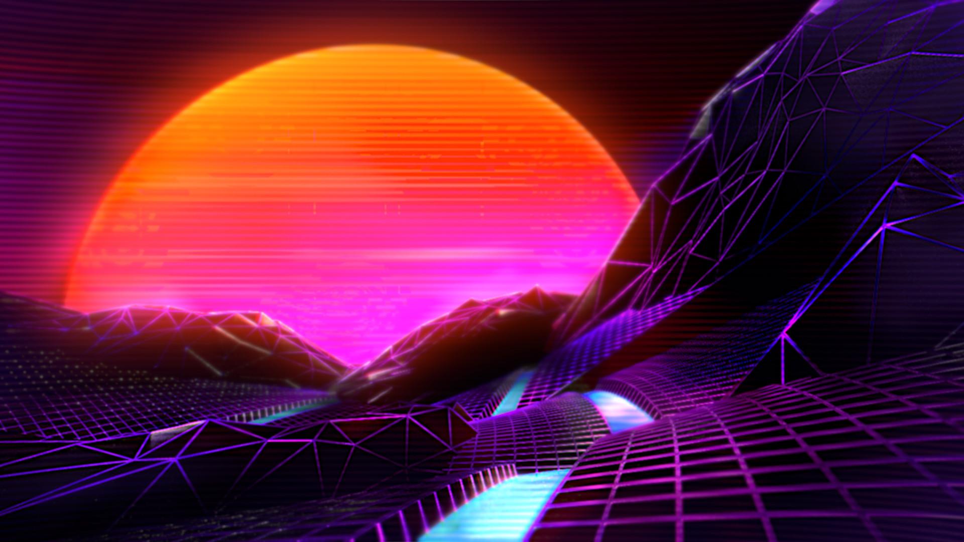ArtStation - Retrowave | 𝙽𝚞𝚖𝚋𝚎𝚛 02, // Janovich //