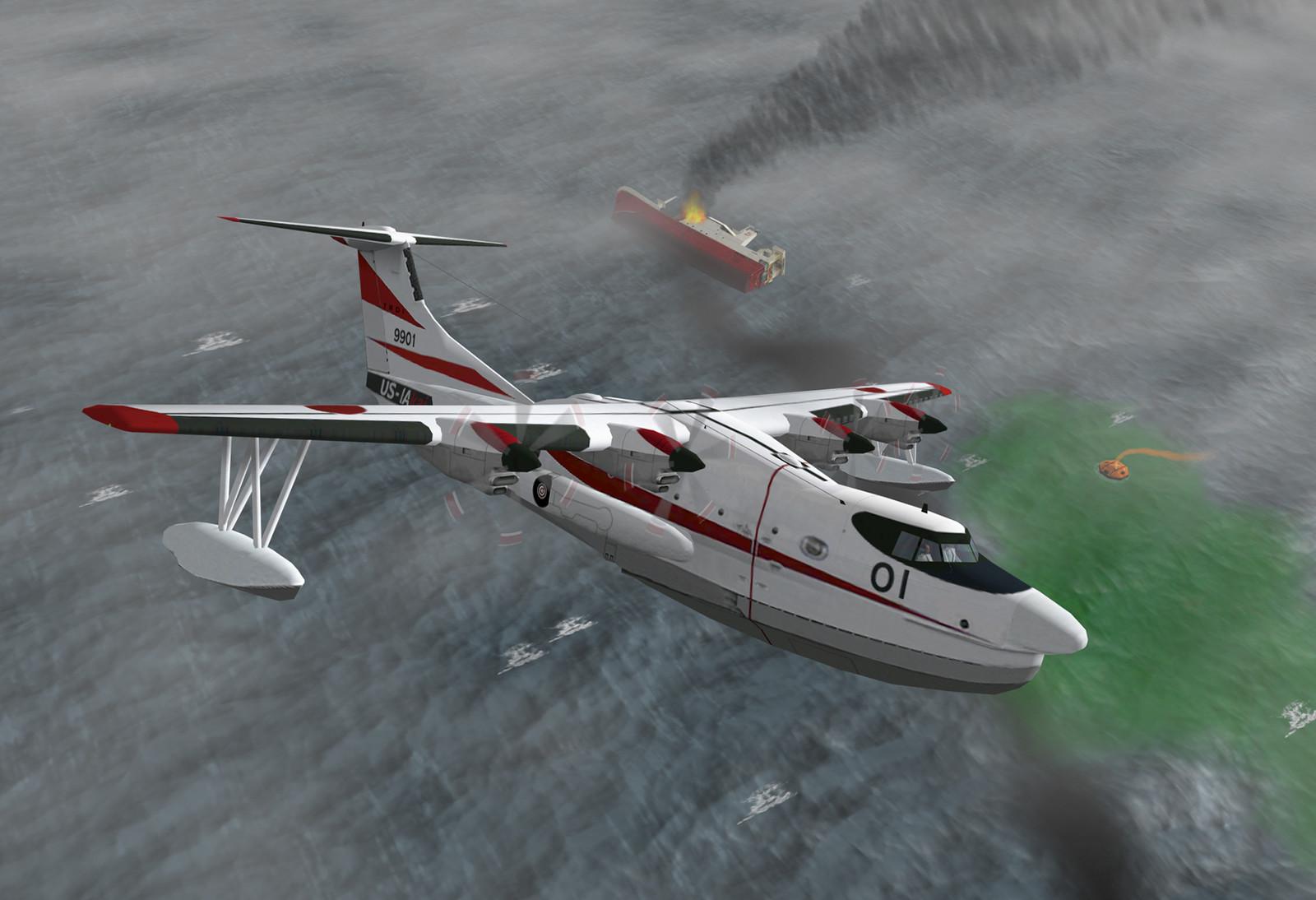 US-2 Kai air-sea rescue