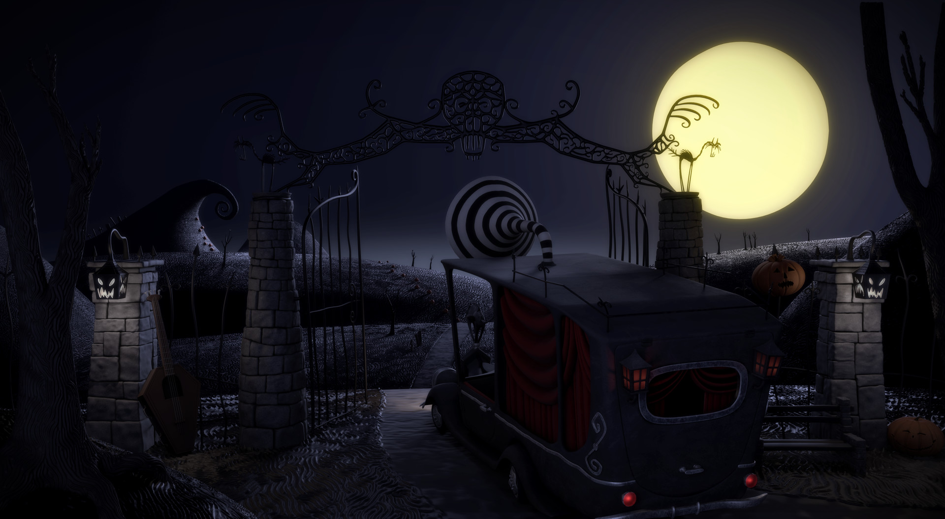 Rasmus Lindhardt Møller - The Nightmare Before Christmas Style ...