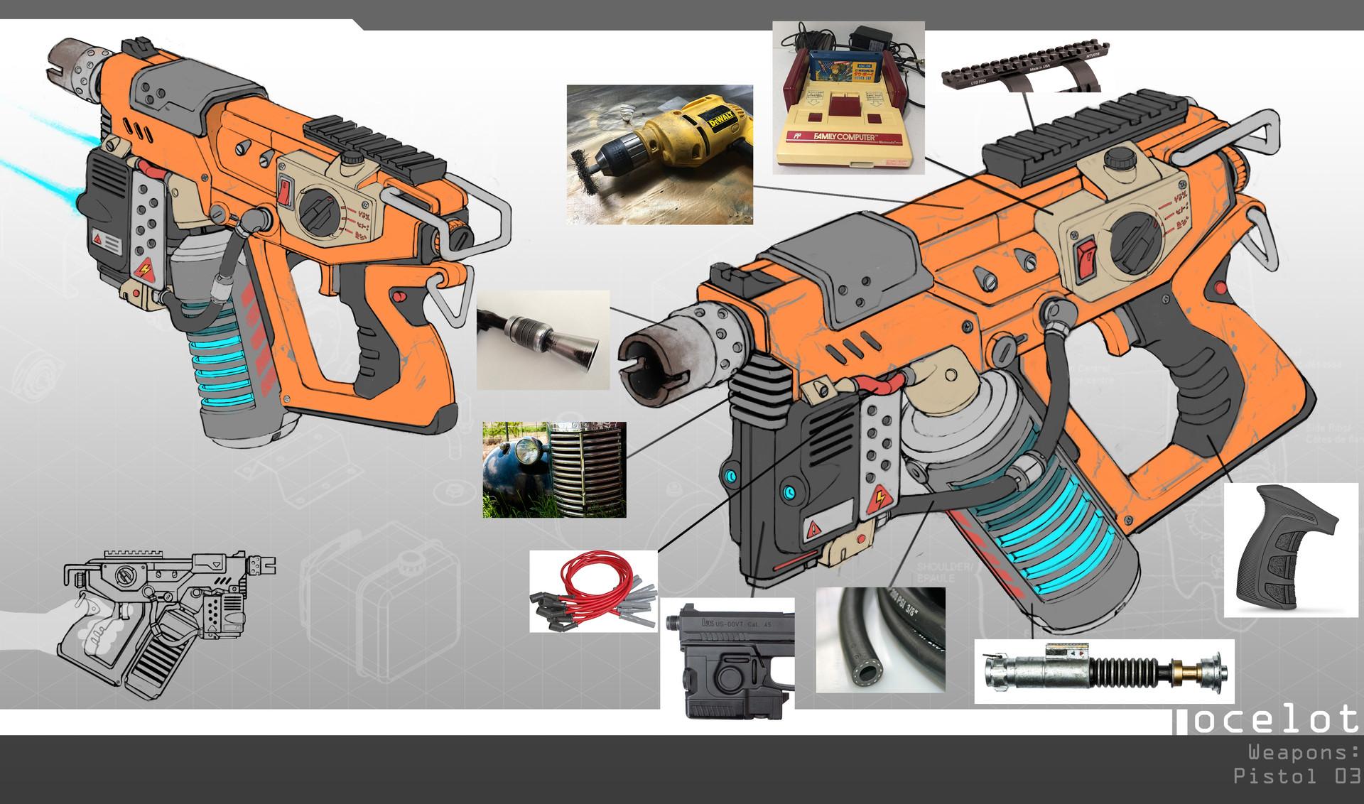 Markel milanes pistol textures