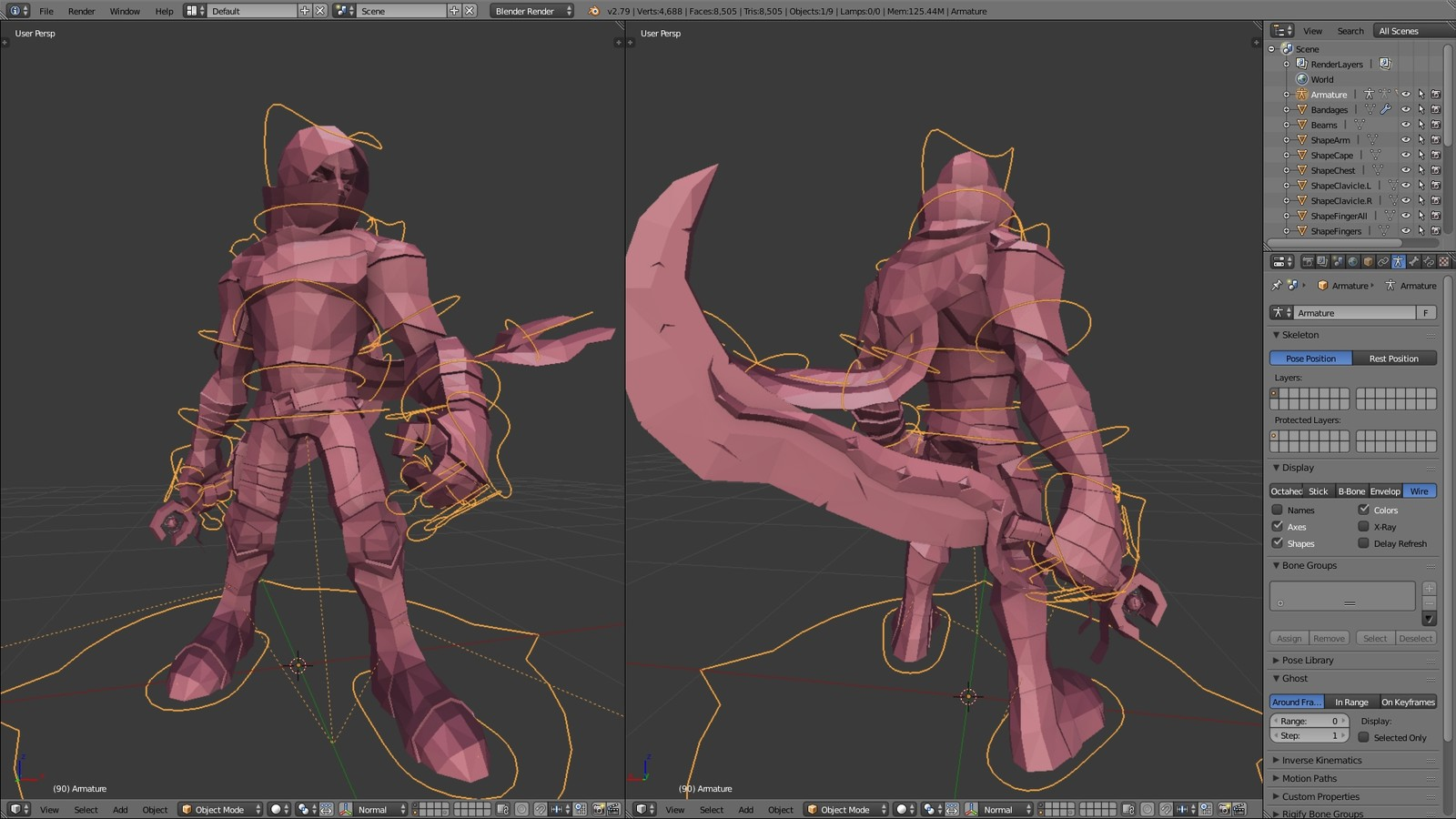 Blender Viewport - Rig