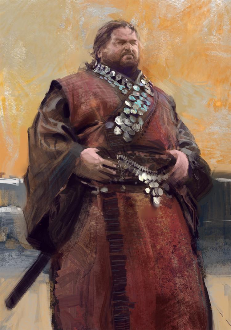 Fat samurai