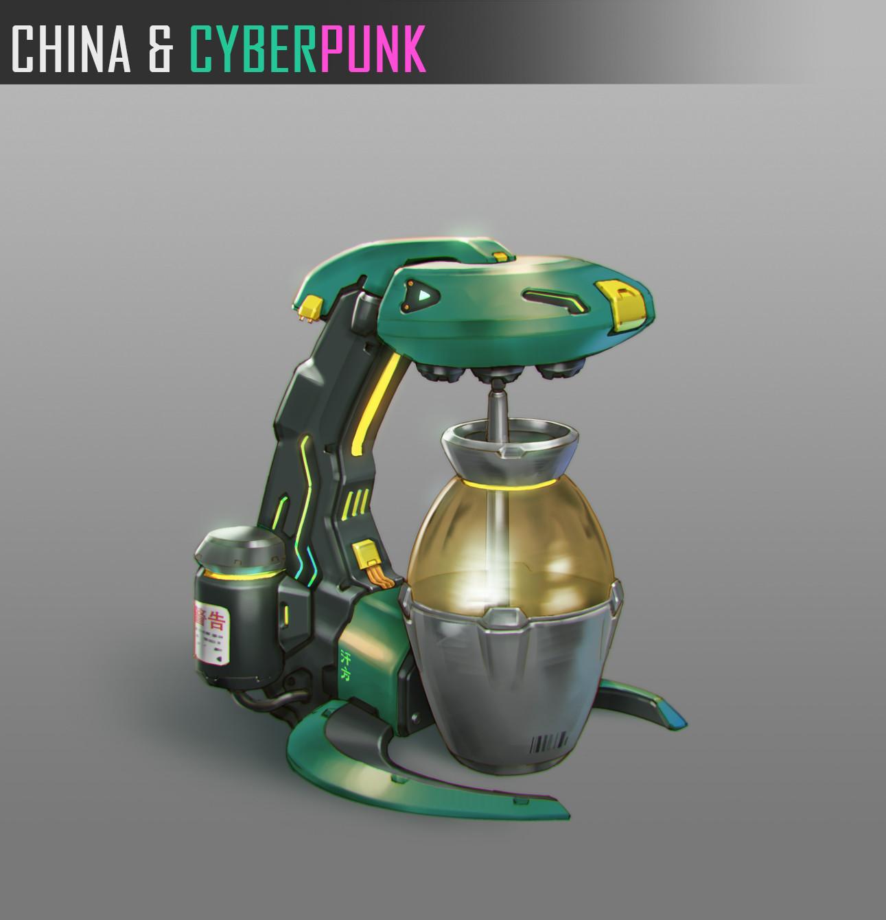 Ben zhang china cyberpunk