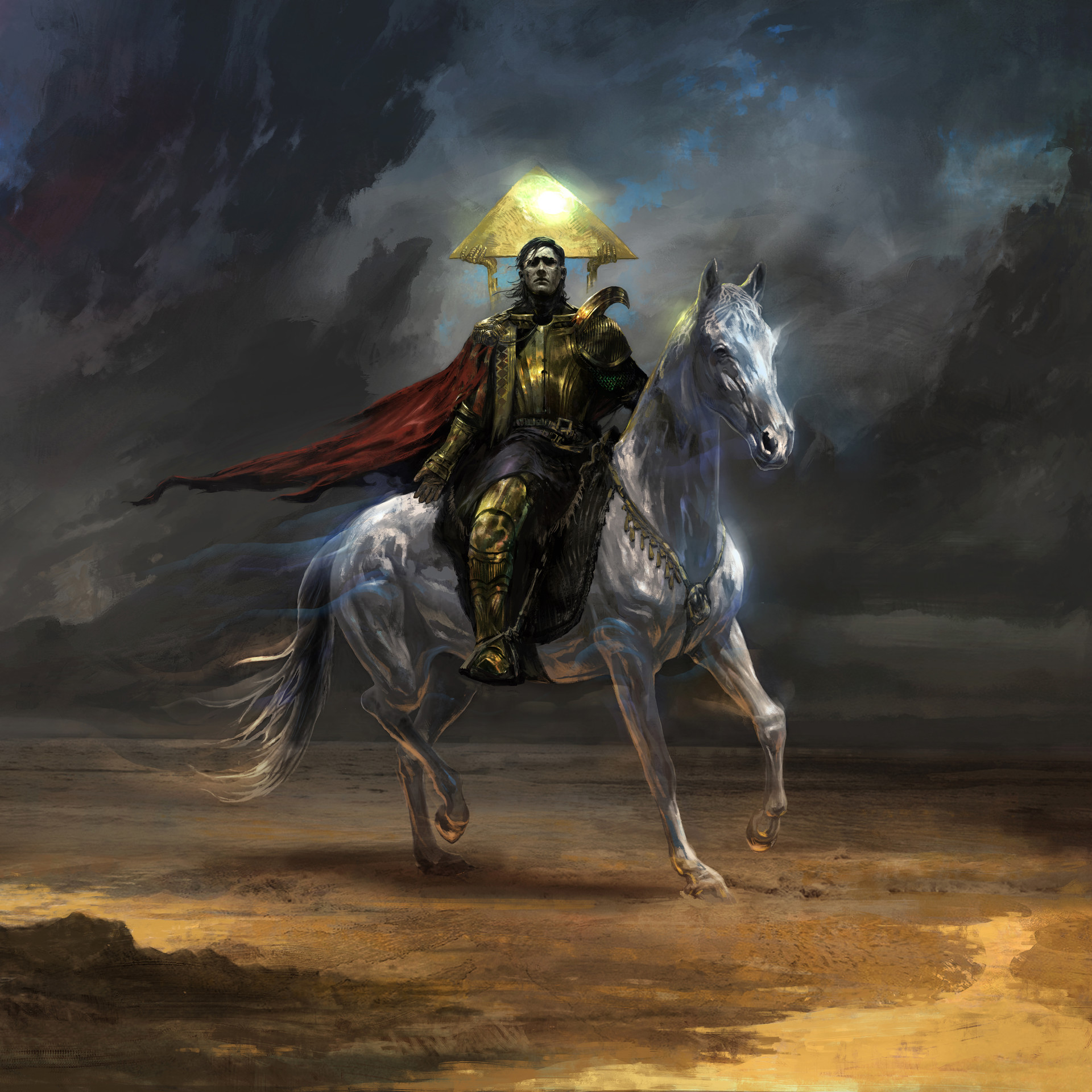 ArtStation - The Pale Rider, Dimitar Ivanov