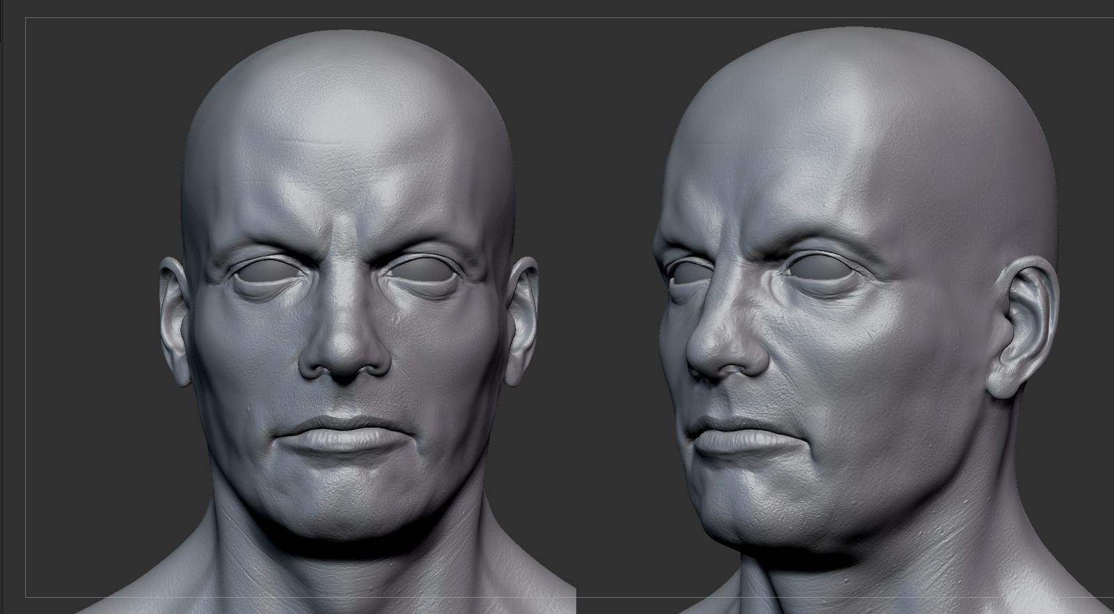 Paul Zbrush Screenshots 