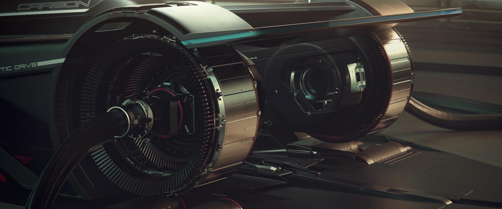 Charging up / Rear jack integrated into diagnostics platform.