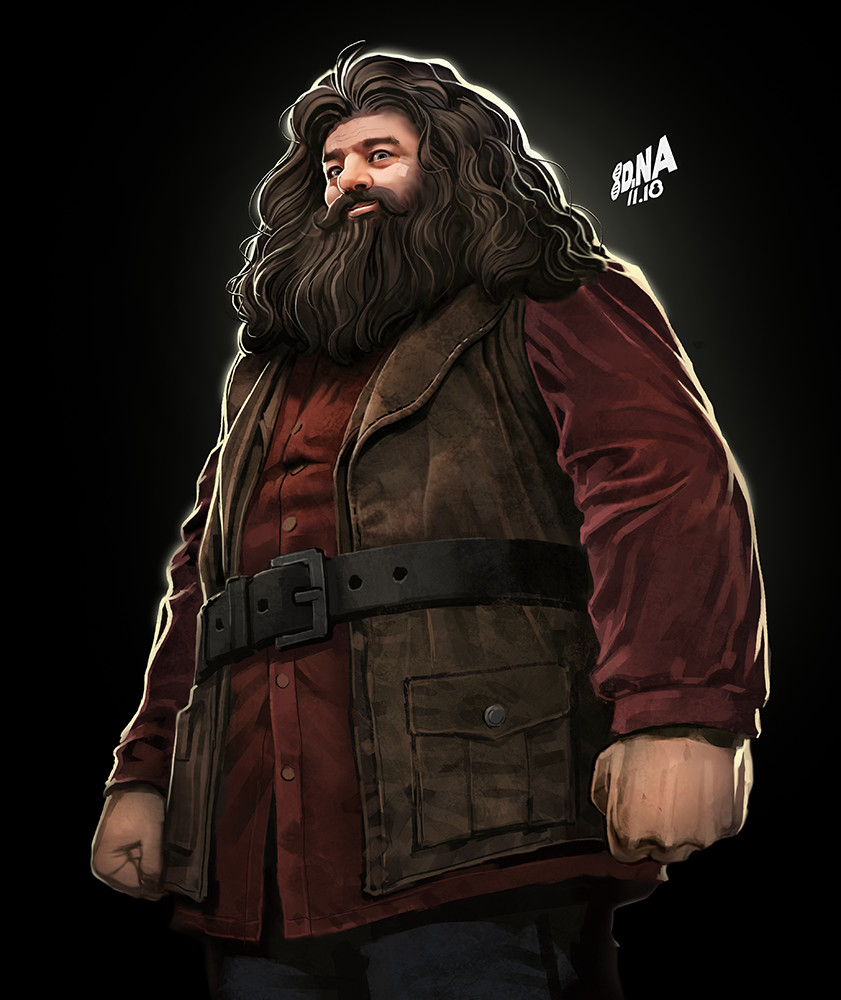 Hagrid Spot Illustration