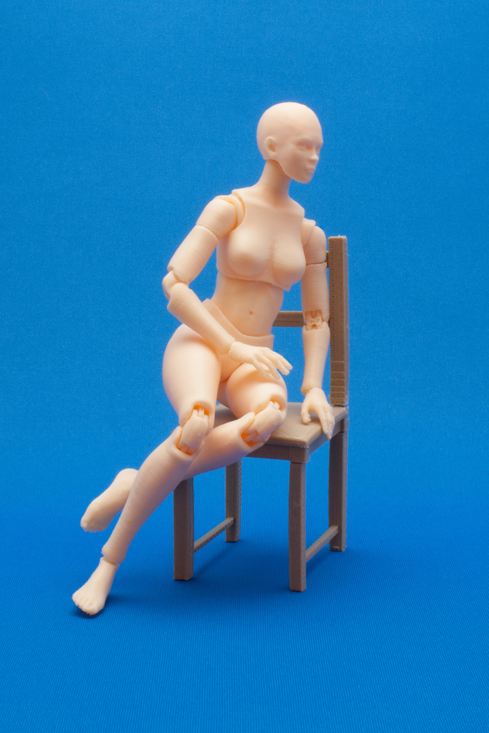 ArtStation - Articulated Poseable Female Figure - 3DPrint Ready