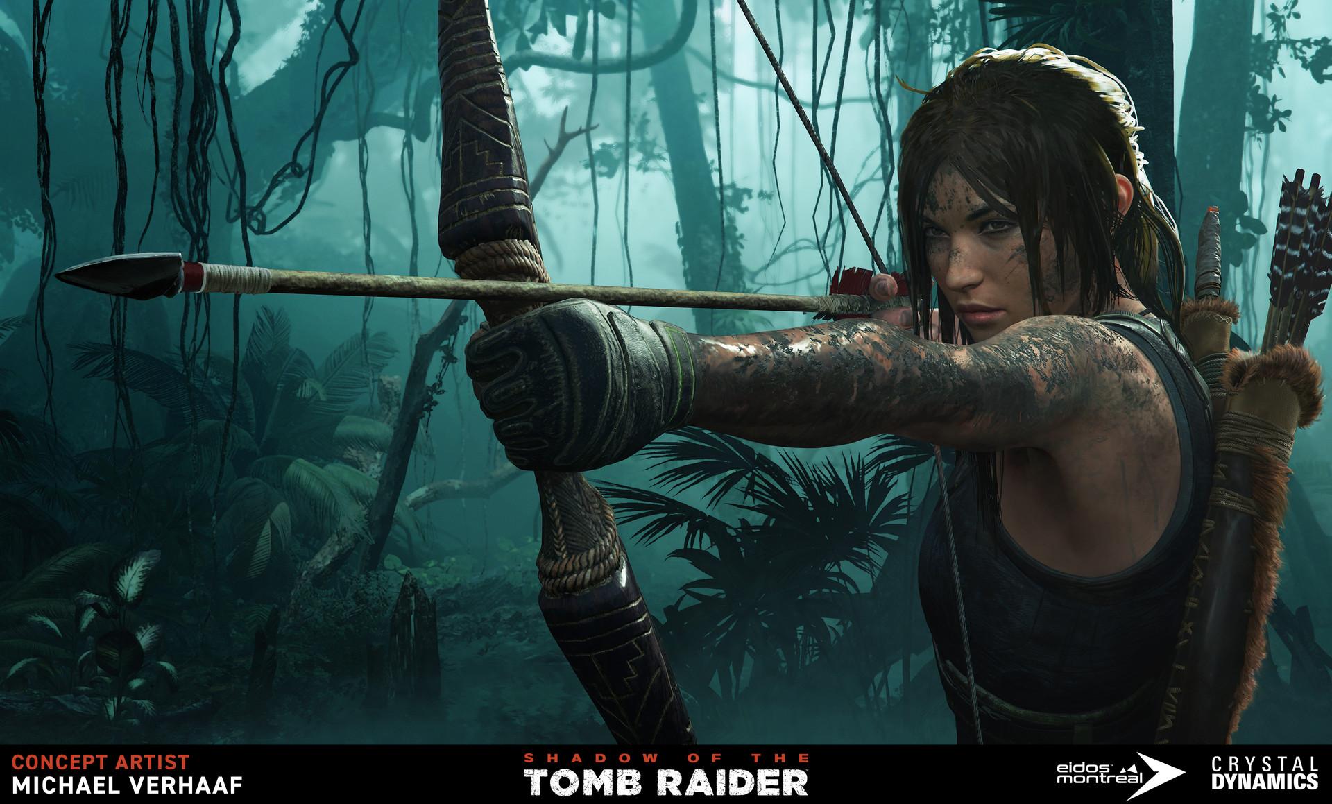 Michaël Verhaaf Shadow Of The Tomb Raider Key Art