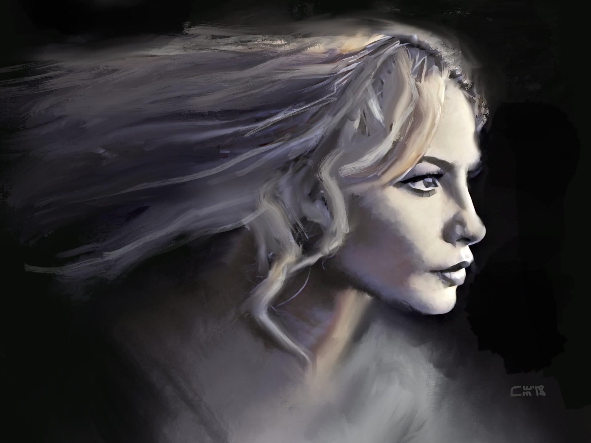 Original iPad painting