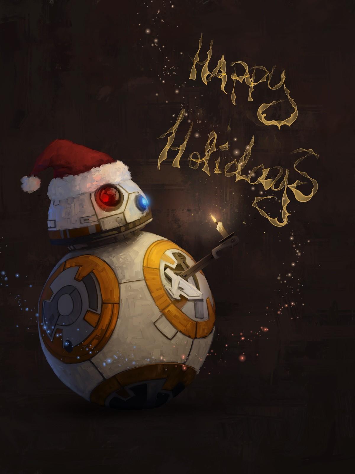 StarWars Fanart Christmas illustration