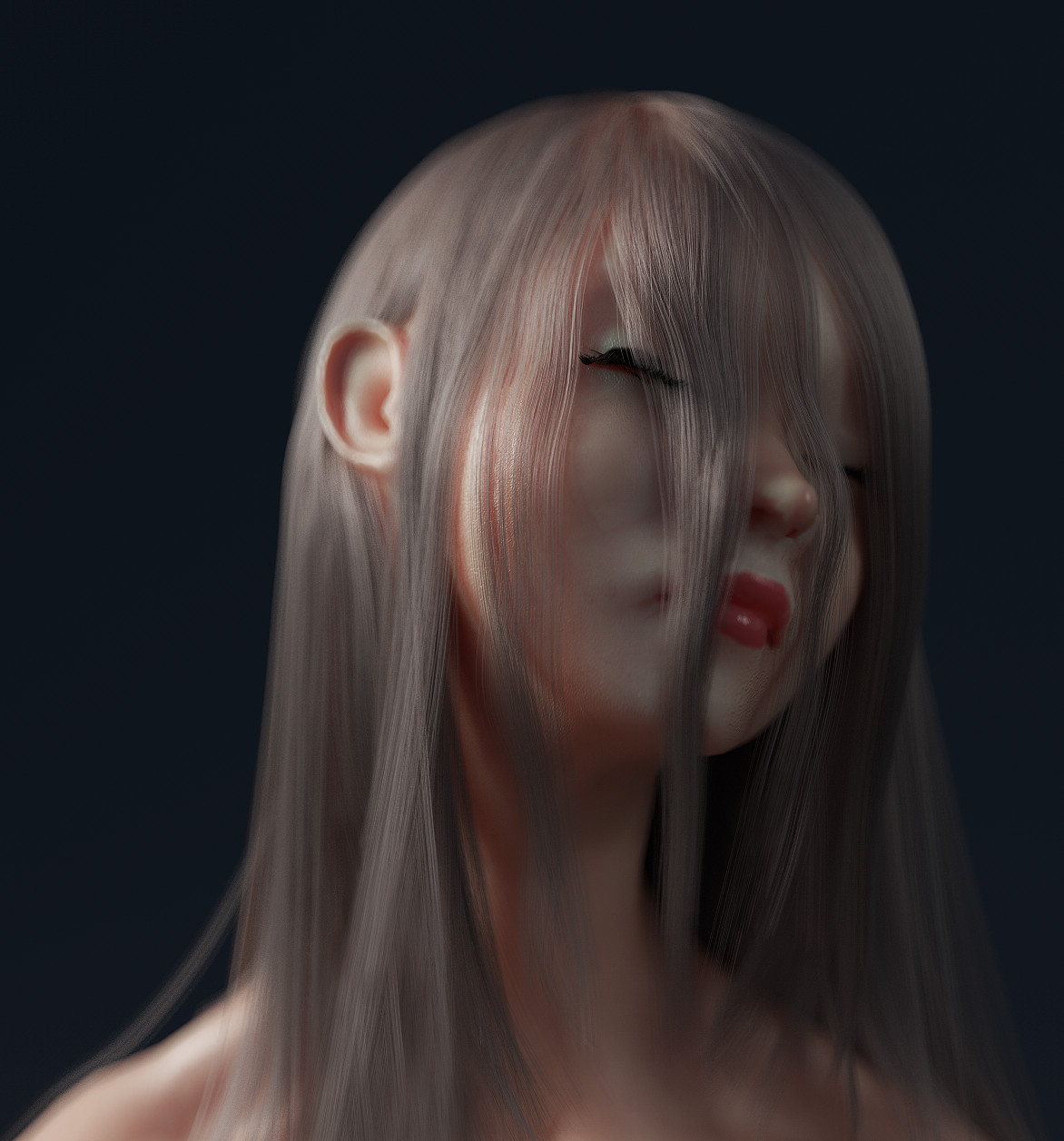 ArtStation - Daily ZBrush Sculpt - Female Portrait, Elijah Sparshott