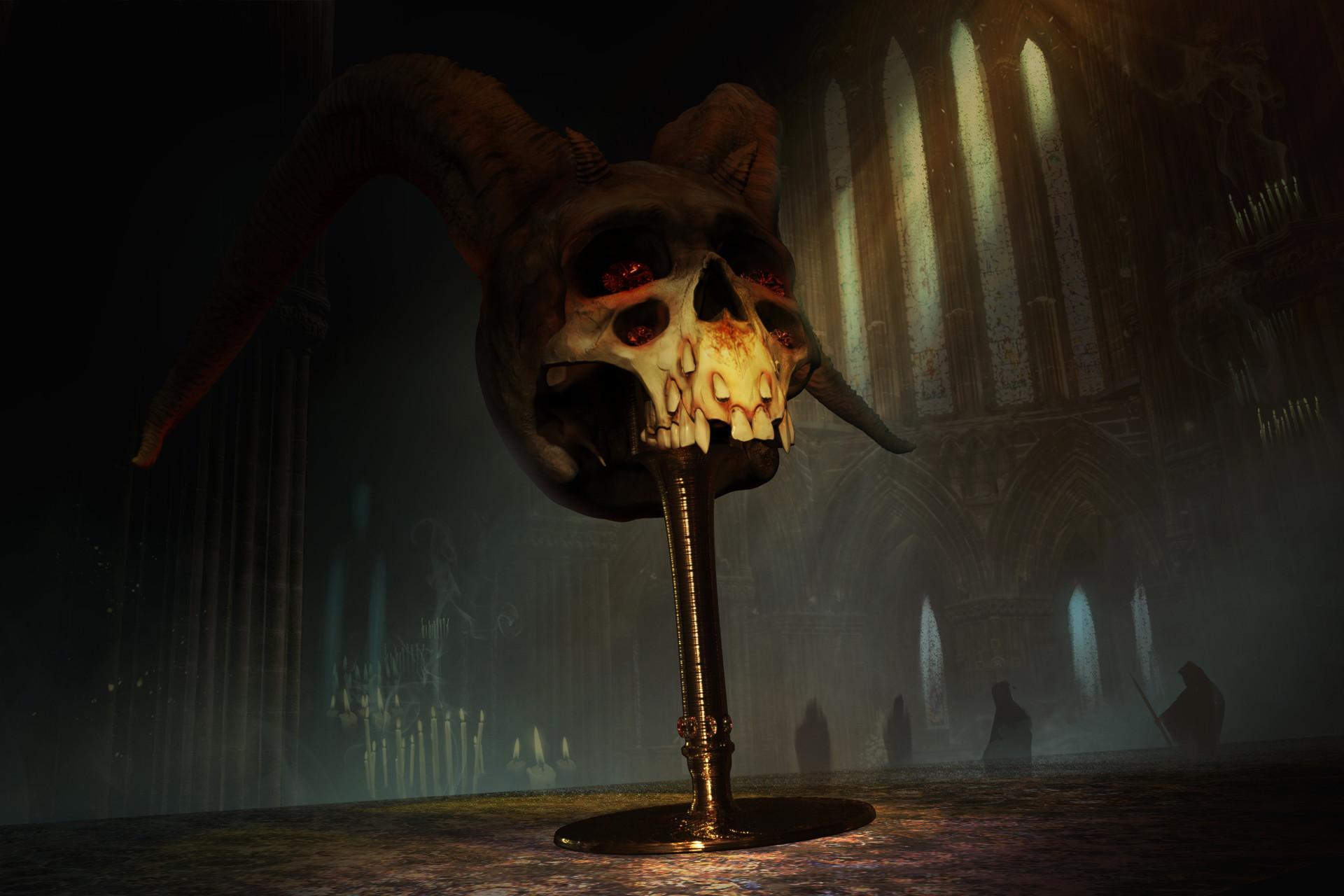 Yeve drovossekova skull2