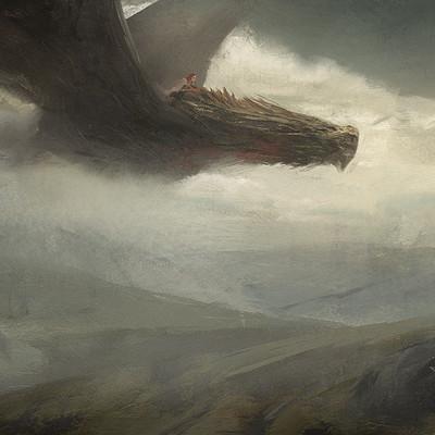 Constantine marin dragonsketch