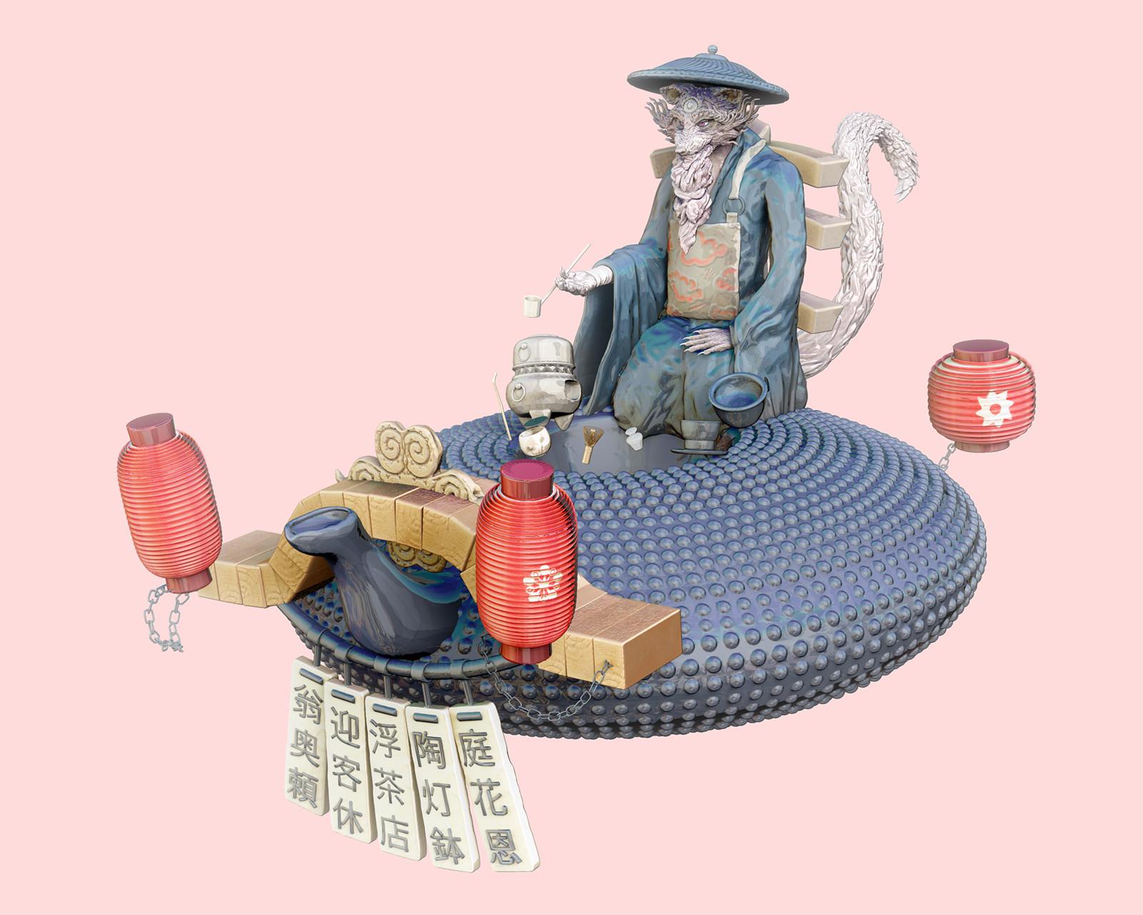 Tea Master - Toon