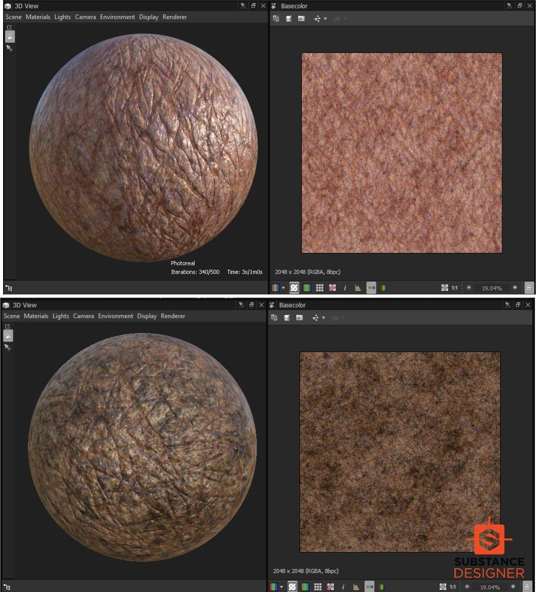 Daniel bystedt substance designer skin