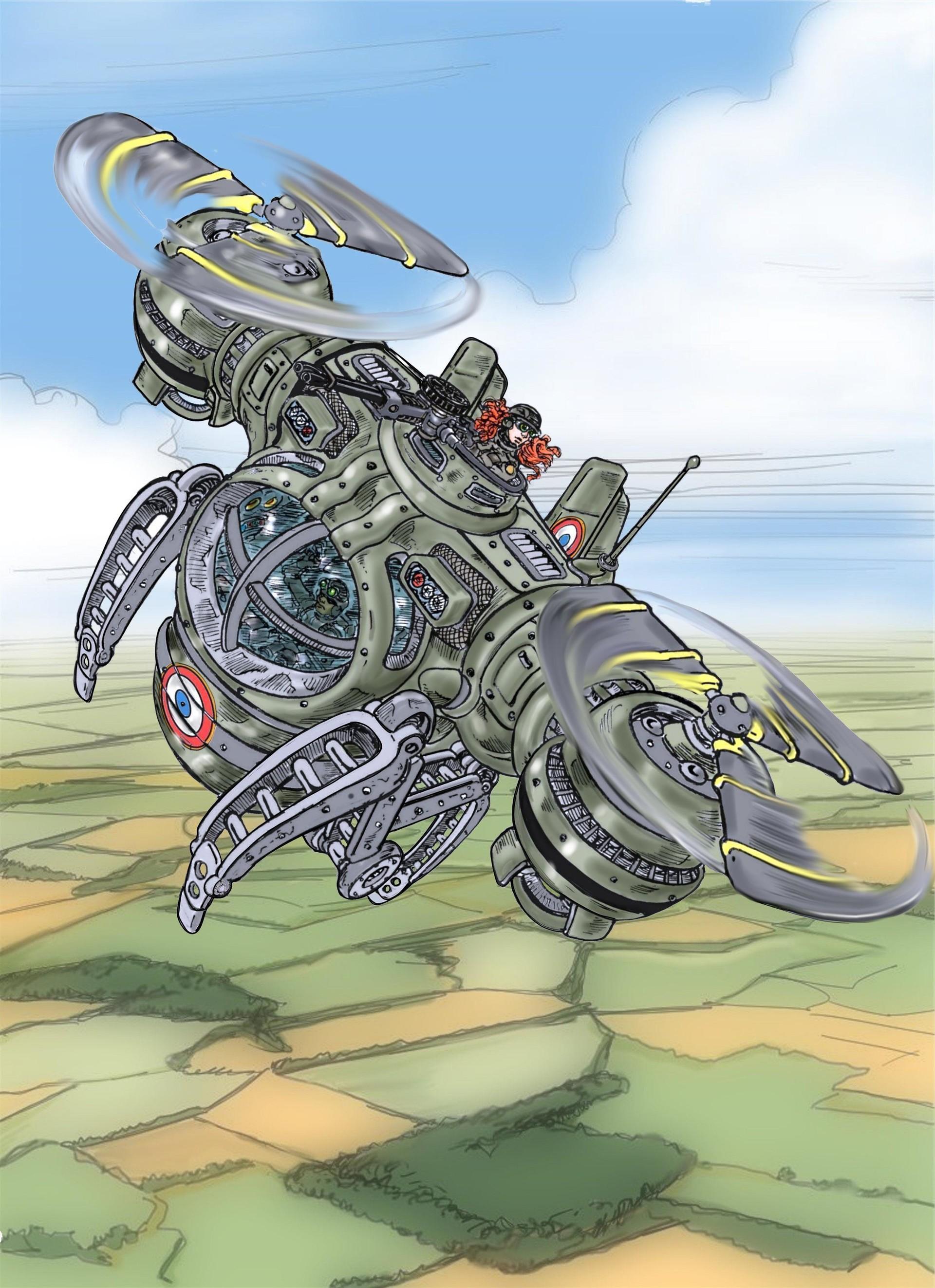 Vincent bryant dual rotors color