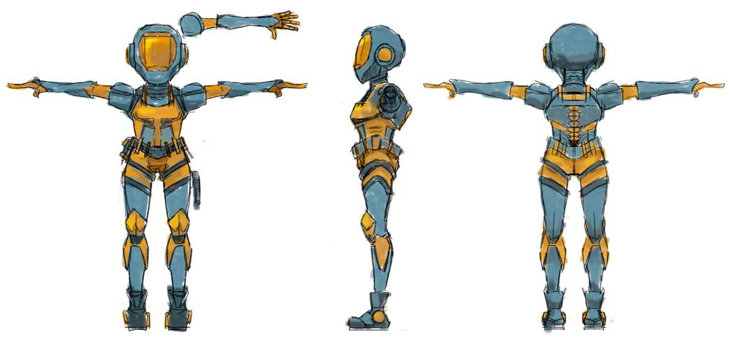 Mech Repair Character Concept