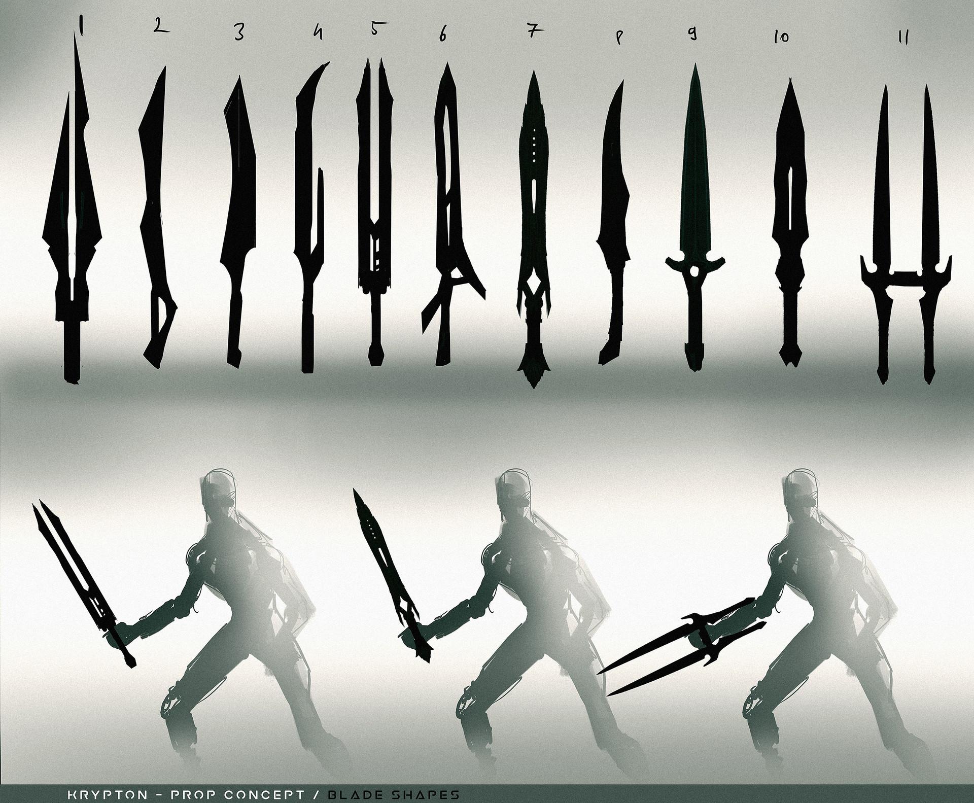 Nothof ferenc blades