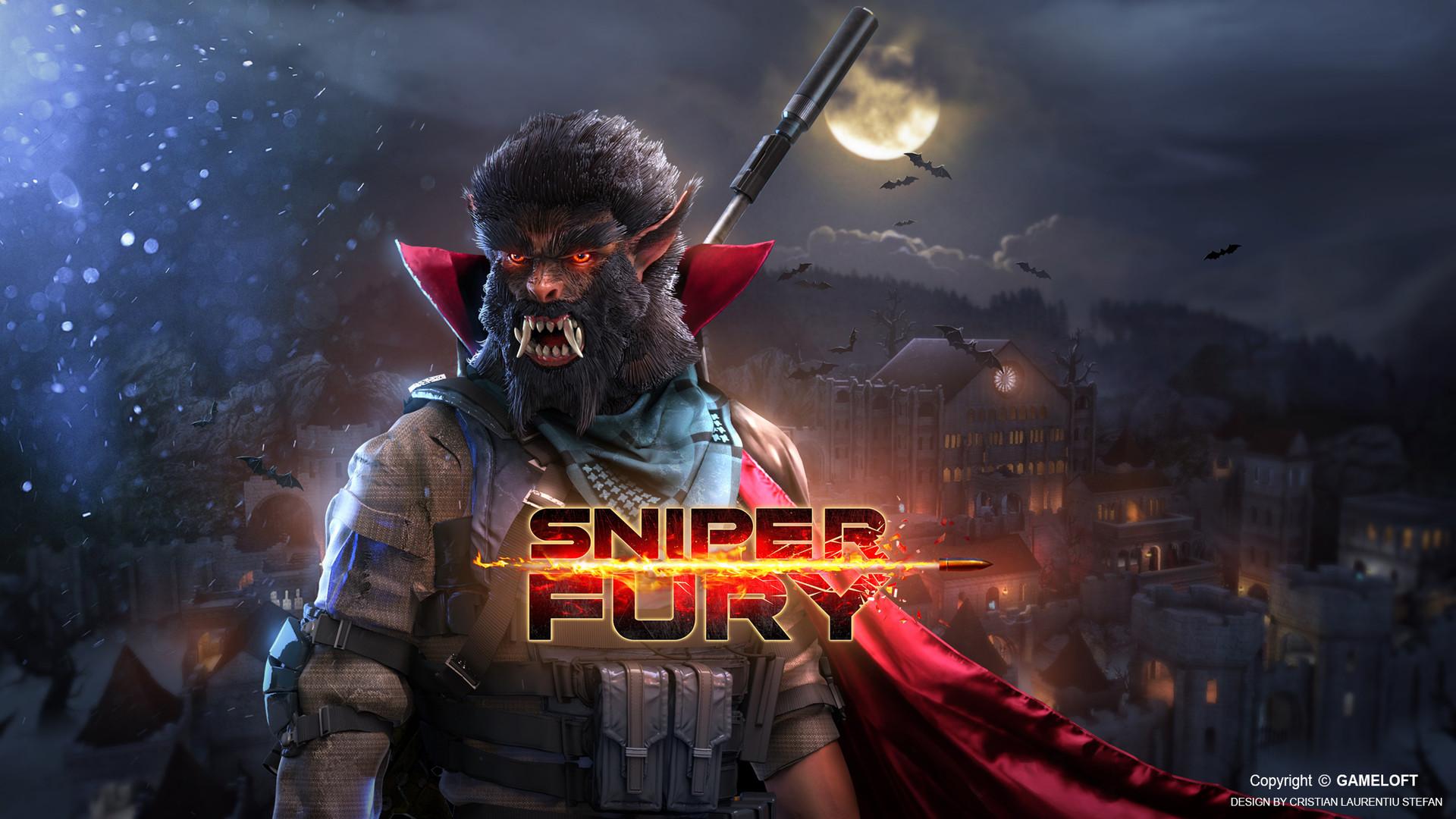 ArtStation - Sniper Fury (marketing art) - 03, Cristian