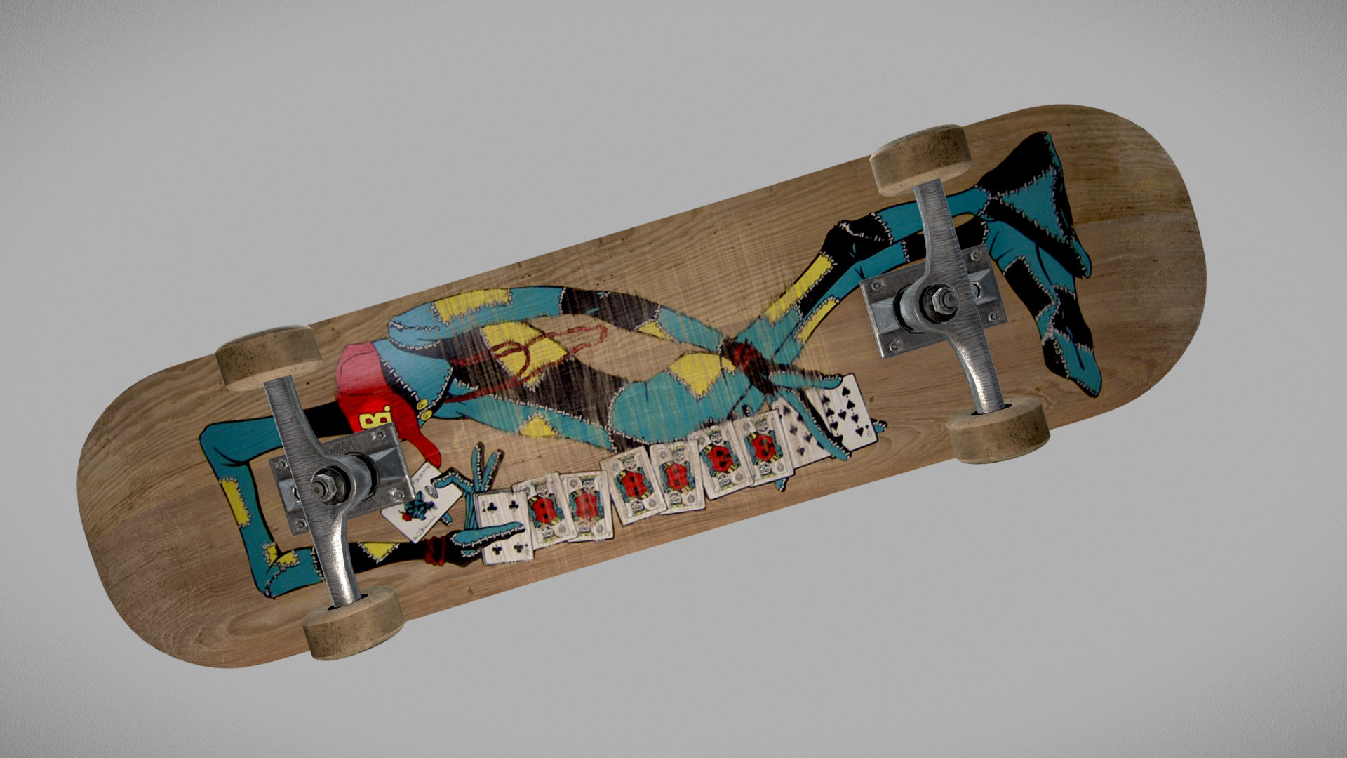 screenshot of sketchfab model